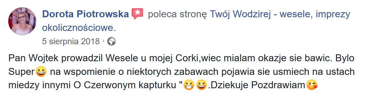 Mama o wodzireju Wojciech Salamon