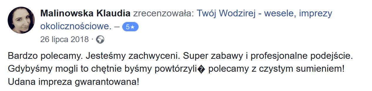 Twój Wodzirej Wojciech Salamon